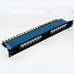 """Подробнее оПатч-панель 19"""" 16xRJ-45 FTP, кат. 6, dual type"""