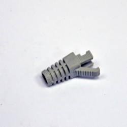 Колпачок пластиковый, 6.5 мм, для коннекторов STP кат. 6, серый, EPNew