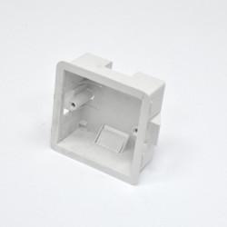 Подрозетник внутренний MK Electric 1G для гипсокартона, глубина 35 мм