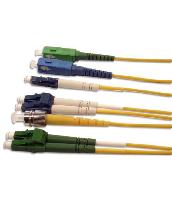Патч-корд оптический симплексный из патч-кордового кабеля, внутреннего применения. Длина 1,5м.
