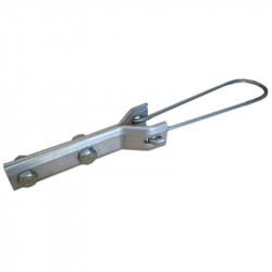 Анкерный зажим Н5, кабельная арматура Premium для круглого самонесущего ADSS кабеля