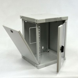 "CMS Шкаф настенный 10"" 6U, 320х300 мм, серый"