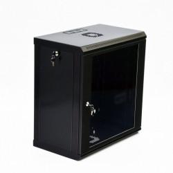 Серверный шкаф настенный 12U эконом, 600x500x640 мм, черный