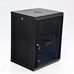 Серверный шкаф настенный 15U эконом, 600x500x773 мм, черный