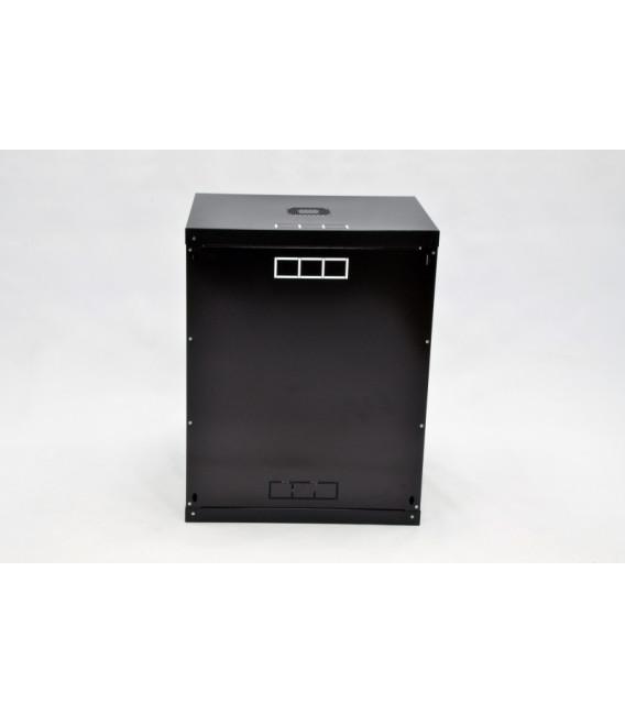 CMS Шкаф настенный 15U эконом, 600x600x773 мм, черный