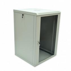 Серверный шкаф настенный 18U эконом, 600x600x907 мм, серый