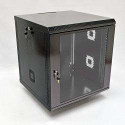 Серверный шкаф настенный 12U, 600x600x640 мм, черный