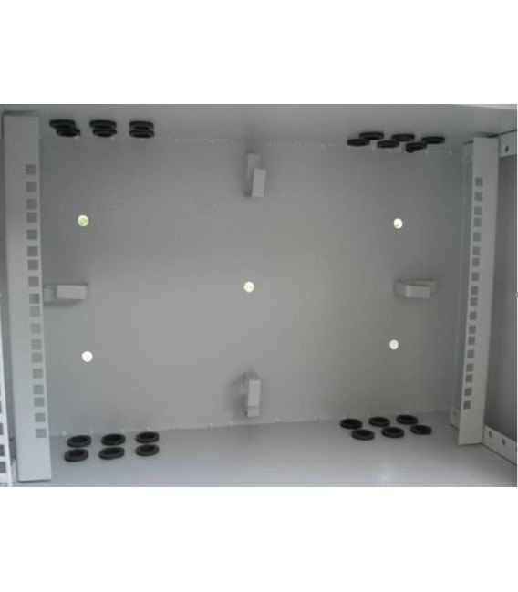 """ШНВ 19""""12U 400мм 600х400х630 (ШхГхВ) Антивандальный шкаф"""