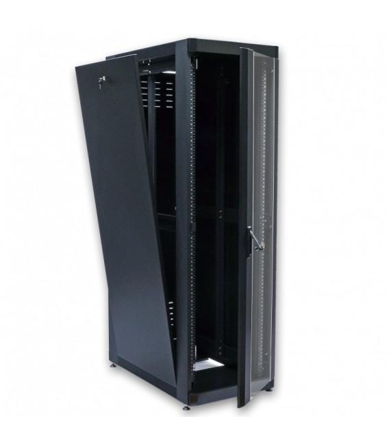 CMS Шкаф напольный 42U, 610х1055 мм, усиленный, чёрный