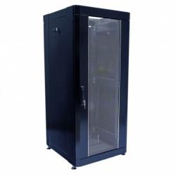 Серверный шкаф  24U, 610х675 мм, усиленный, чёрный