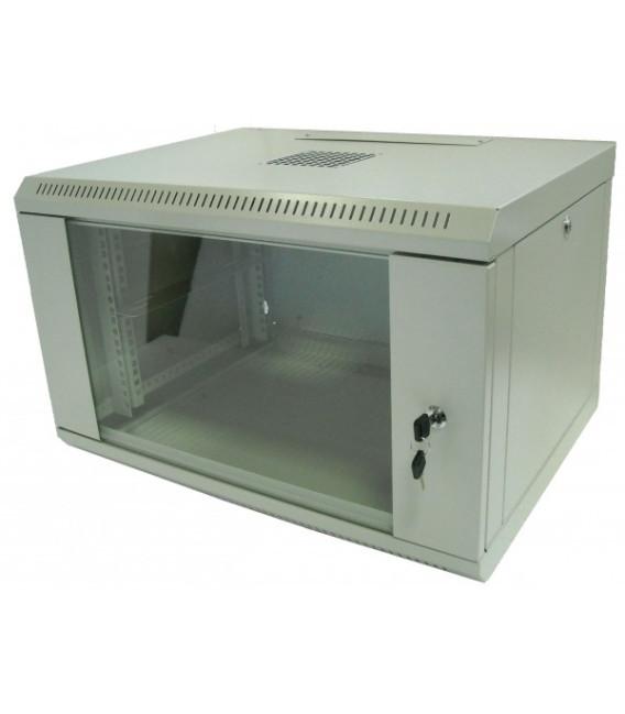 Hypernet Шкаф настенный 15U 600x450 металл/стекло разборной