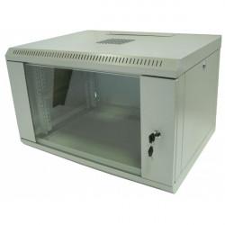 Серверный шкаф настенный 15U 600x450 металл/стекло разборной