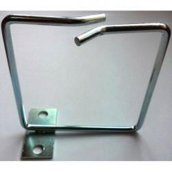 Hypernet Менеджмент кабеля металлическое кольцо 80*80мм центральная фиксация