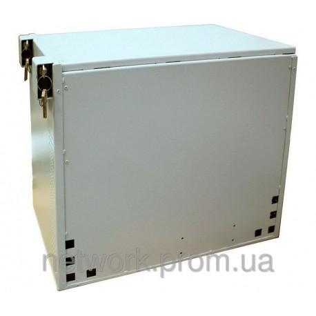 Антивандальный антивзломный ящик с зубьями-крюками на дверях