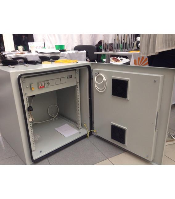 Всепогодный уличный климатический шкаф ШКК 6U