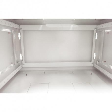 Шкаф настенный 9U 600x600 Дверь перфорация