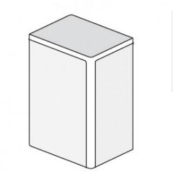 ДКС 25x17мм Заглушка, белый