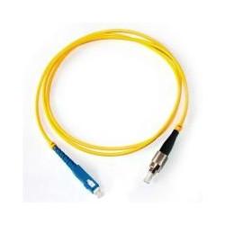 Коннектор оптический (собранный) FC simplex SM (PC), 3мм