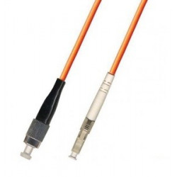Коннектор оптический (собранный) LC simplex MM (PC), 3мм
