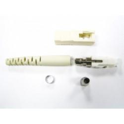 Коннектор оптический черный SC simplex MM (PC), 0,9мм