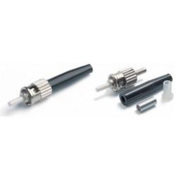 Коннектор оптический (собранный) ST simplex SM (PC), 2мм