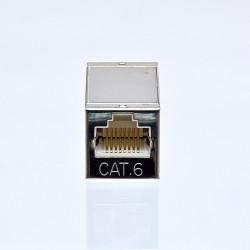 Сращиватель витой пары (cоединительная розетка), экранированный, под коннекторы, cat. 6