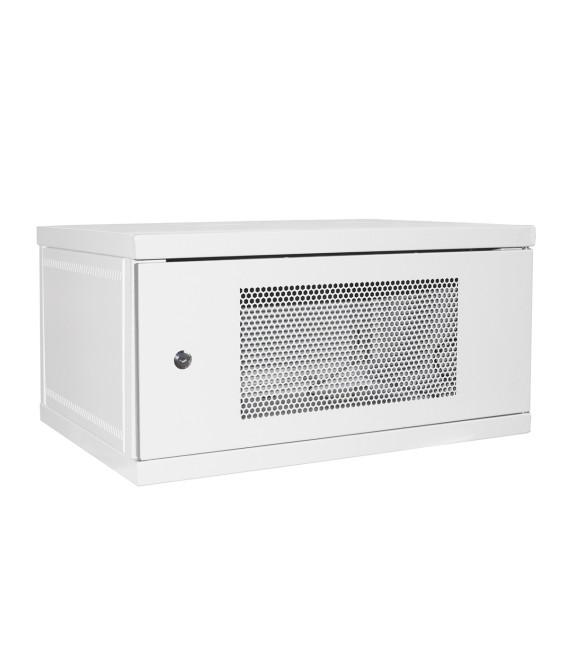 Шкаф настенный 6U 600x450 Дверь перфорация