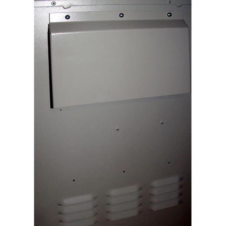 7U Шкаф уличный, антивандальный с креплением на столб