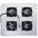 Вентиляторный блок на 4 вентилятора