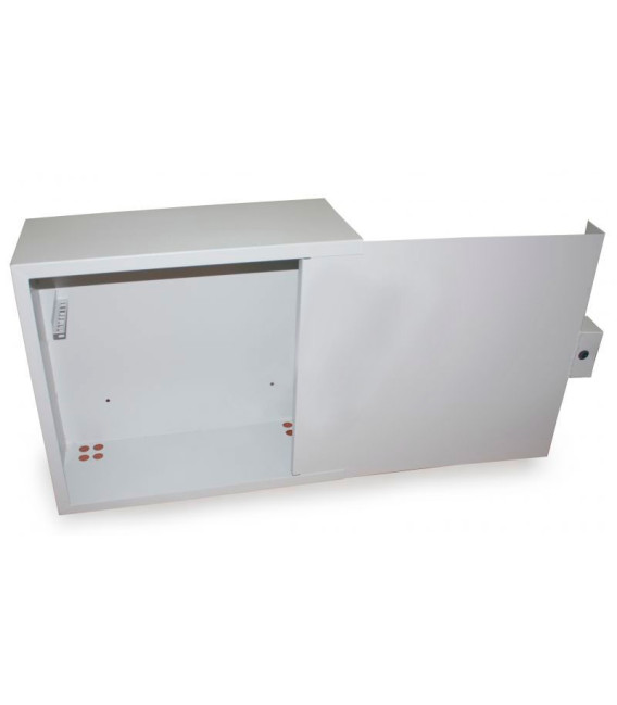БК-550-з-1-3U/крабовый замок (в500мм ш550мм г220мм) Антивандальный ящик
