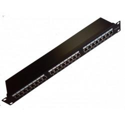 """Патч-панель 24 порта FTP кат 5Е 19"""""""