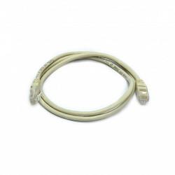 Патч-корд серый UTP cat5e 1m, медь