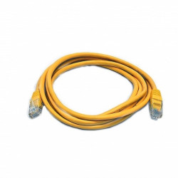Патч-корд желтый UTP cat5e 1m, медь