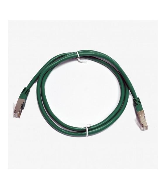 Патч-корд зеленый 1м медный FTP кат5e