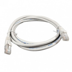 Патч-корд 10м серый UTP кат6