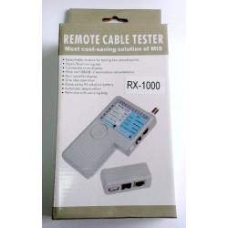 Тестер кабельный RJ-45, RJ-12, USB, BNC
