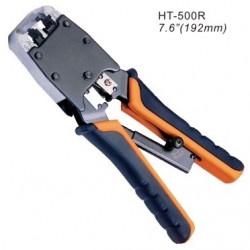 Инструмент для обжимания коннекторов 8C8P, 6PxC, профессиональный, с трещеткой