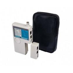 Тестер светодиодный (BNC, STP, Phone, USB)