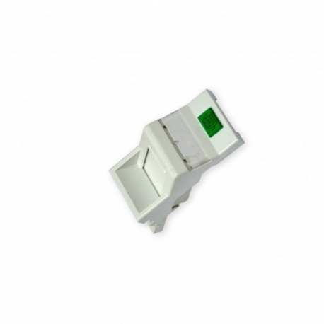 Вставка 50х25 под модуль Keystone, наклонная 45°, EPNew