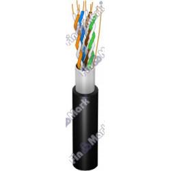 Витая пара кабель FinMark FTP кат 5е,черный, 305м